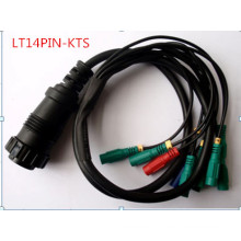 Cabos de ferramenta de diagnóstico Kts-Lt14pin adaptador cabo Auto acessório