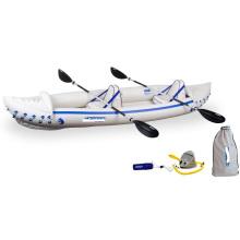 2 Persons Kayak Inflatable Boat Sun& Saltwater Resistant Material