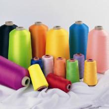 Günstige Spun Polyester Nähgarn mit verschiedenen Farben