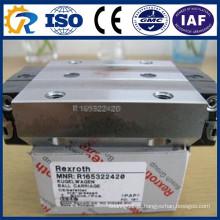 Rexroth CNC Peças Bloco Runner R165322420 Linear Guias Bloco de trilhos