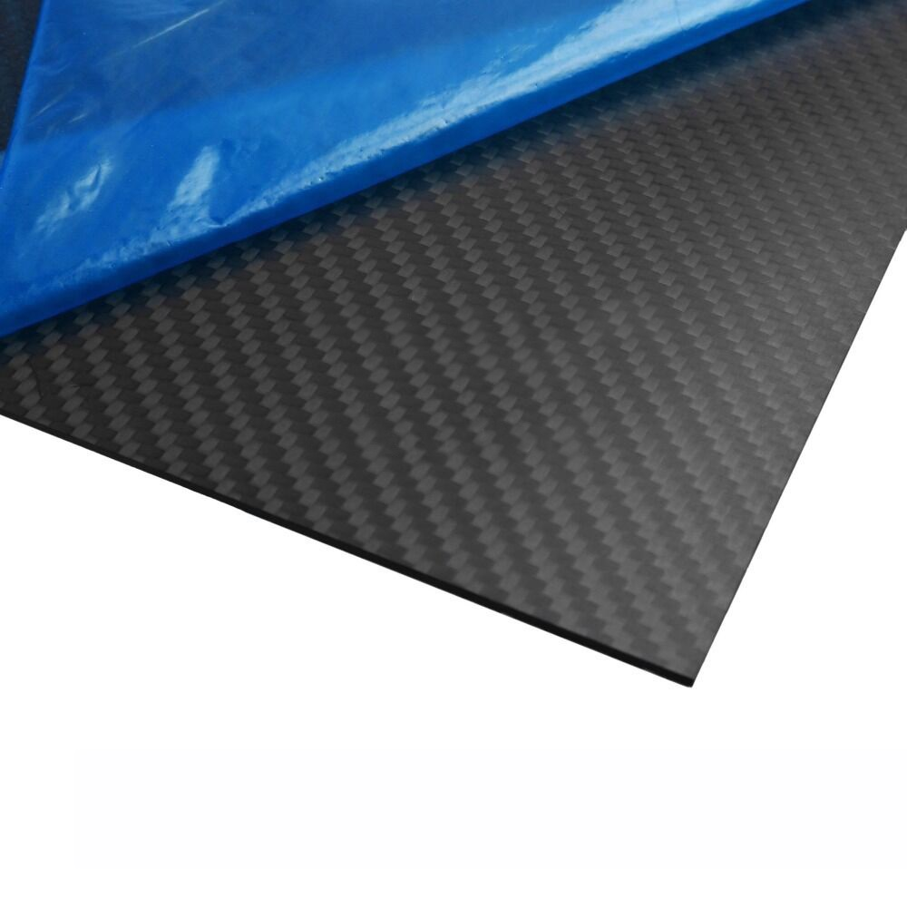 3k twill matte carbon fiber plates