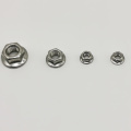 Stainless Steel Hex Serrated Nonslip Lock Flange Nuts