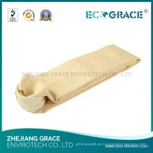 P84 Stoff Staubabscheider Filtertasche für Schmelzindustrie