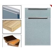 Contre-plaqué en céramique en mélamine avec portes à armoires de cuisine (zhuv)