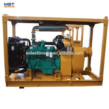 Pompe à eau diesel centrifuge de 6 pouces