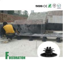 Adjustable Plastic Pedestal for WPC Decking
