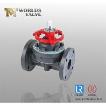 Нержавеющая сталь WCB мембранные клапаны