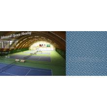 Pavimento Desportivo em PVC para Áreas de Ténis / Desporto Indoor
