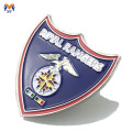 Creatore di badge in metallo militare professionale in smalto morbido