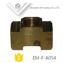 EM-F-A054 Unión rápida de rosca de latón conector rápido grueso