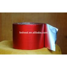 Papier en feuille feuilleté en aluminium revêtu de couleur pour emballage au chocolat