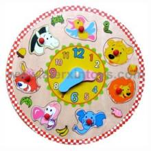 Wooden Clock Puzzle (81376)