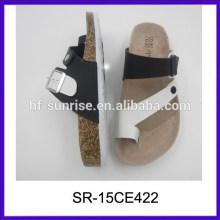 Sandalias de las mujeres del modelo de la manera las sandalias de las señoras de las mujeres del precio bajo las últimas señoras sandalias diseña