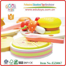 Wooden Food Toy - Fruit and Vegetable Cutting Toy