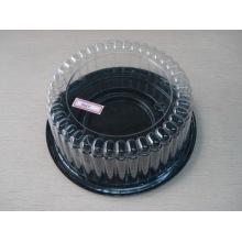 Contenant de gâteau en plastique transparent