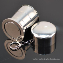2015 Child Gift Promotional Present Folding Collapsible Telescopic Cup