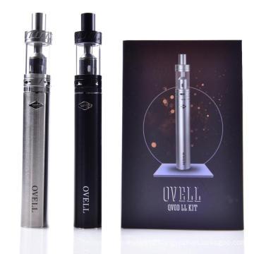 Original Ovell Qvod LL kit with Battery 2200mah with LL Tank 3.5ML ovell Starter Kit E-cigarette Kits PK Smok kanger kit DHL FRE
