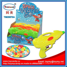 High Quality Space Water Gun Toy with Candy