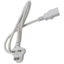 South Africa 3 Pins Plug to IEC C13 LSZH Power Cord
