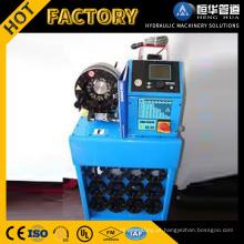 O PLC do preço da oficina controla a máquina de friso da mangueira hidráulica automática completa com grande desconto