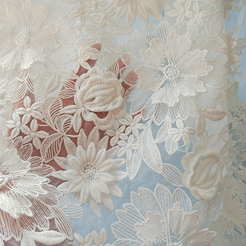 Wedding Lace Embroidery Flower