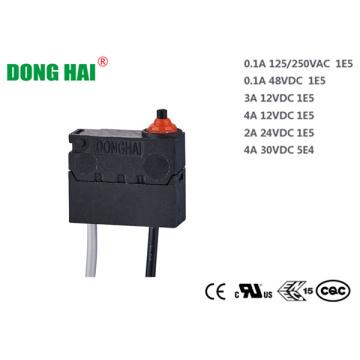 Microinterruptor sellado para equipos agrícolas
