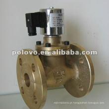 Válvula solenóide de 2 polegadas com flange de vapor ZCZP
