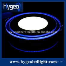 15W super waterproof RA:75 PF:0.9 led panel light with color changing