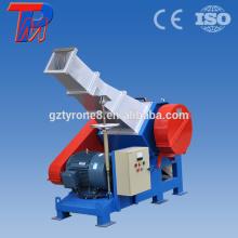 Plástico trituradora de tubos tipo pvc tubería trituradora de plástico máquina de corte de plástico de la máquina