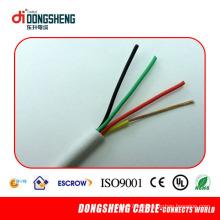 4 Cores cabo de alarme com PVC RoHS
