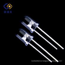Uso amplio 395-400NM Redondo 5mm LED UV con CE y ROHS obediente
