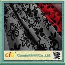 2015 Sofa Verwendung Beflockung Flora Fabric