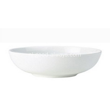 7-inch, 17,8 Cm wit porselein Rice Bowl granen Bowl