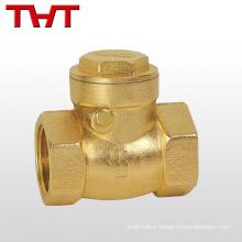 DN50/PN16 spring brass swing a check valve for diesel