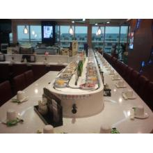 Buffet Food Turning Round Sushi Equipamento