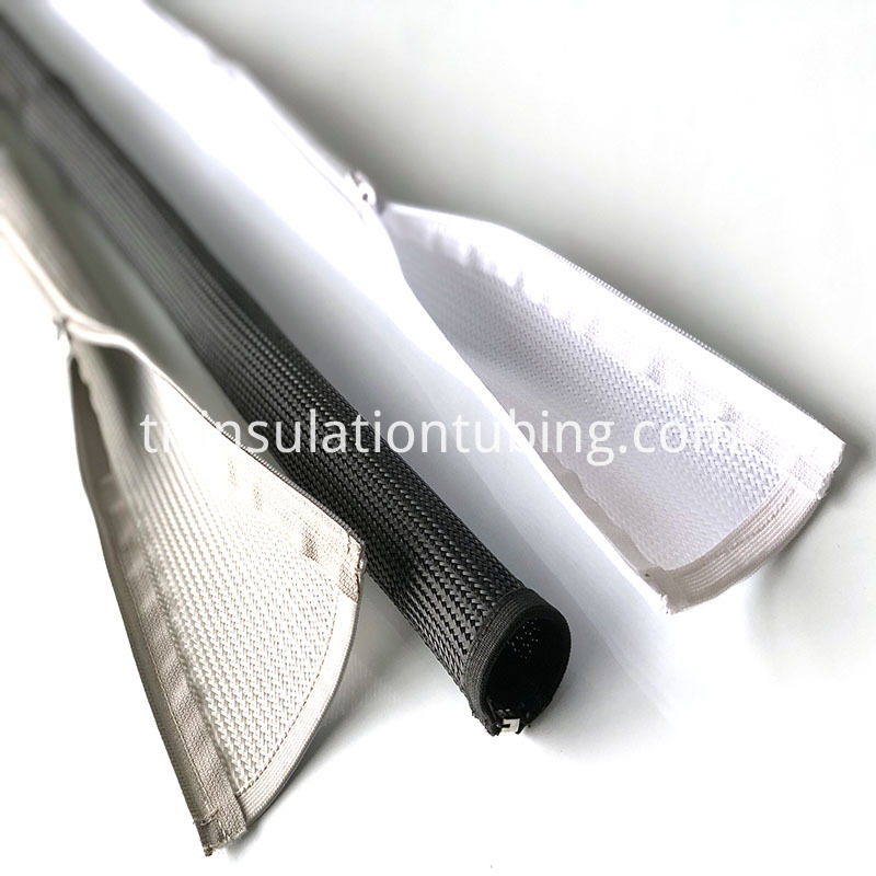Zip Expansion Woven Protective Sleeve