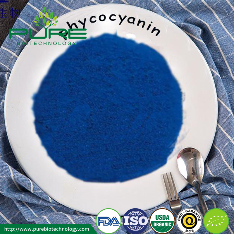 Blue Color Phycocyanin Powder