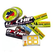 Print die cut bumper vinyl custom stickers