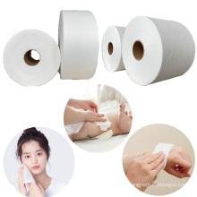 wholesale white color baby diaper viscose spunlace fabric roll
