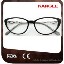 2016New design colorful acetate optical glasses