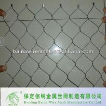 Handgewebte stainess stahlgeknoteten mesh
