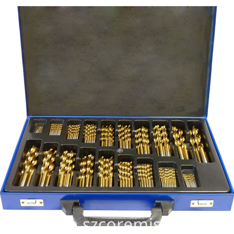 High Speed Steel Masonry Cordless Drill Set