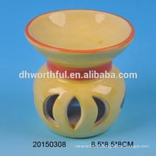 Quemador de incienso de cerámica de la decoración casera promocional