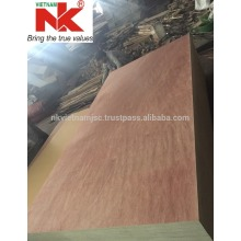 Commercial Plywood 2.5-28 mm with hardwood core from Vietnam