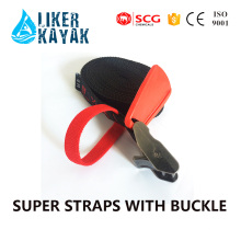 Hook Kayak Lashing Ratchet Tie Down Ratchet Strap with Buckle