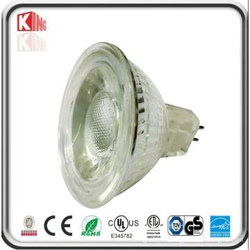 Vente chaude LED Lumière Haute Wattage 5W COB Ampoule LED MR16