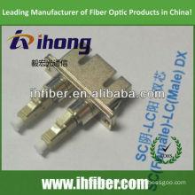 SC female LC male Duplex fiber adapter
