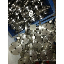 Stainless Steel Flanged Needle Valve (J14W-3000PSI)