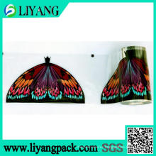 Beautifully Colored Butterfly, Heat Transfer Film for Broom Head