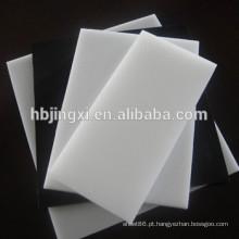 Folha plástica de polietileno de baixa densidade